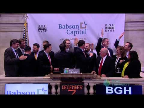Babson Capital Management Celebrates Listing of Babson Capital Global Short Duration High Yield Fund