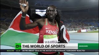 AFRICAN OLYMPIC ATHLETE VS WHITE ATHLETE FACING SAME RULES