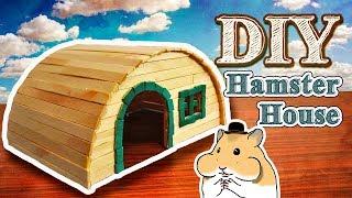 DIY Casinha de Palitos para Hamster - Casinha #7