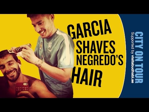 GARCIA SHAVES NEGREDO'S HAIR | Kelly's Tour Diary