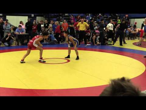 2014 Matmen Classic: 46 kg Final Brianna Raymond vs. Danika Cook