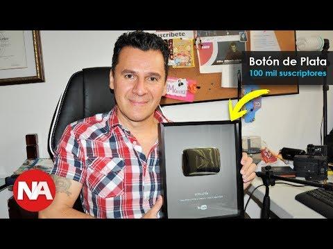 Botón de Plata de Youtube - Noticias de Actualidad Tops