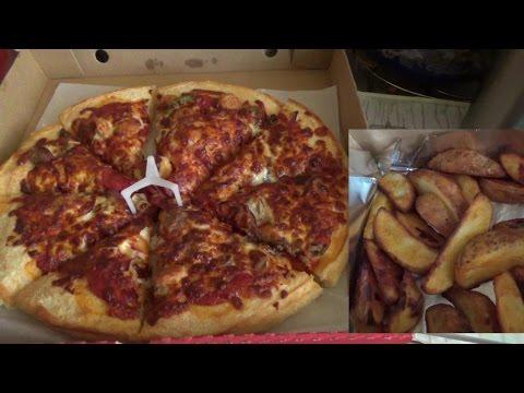 Пицца Хат Суприм (Pizza Hut) и картофель