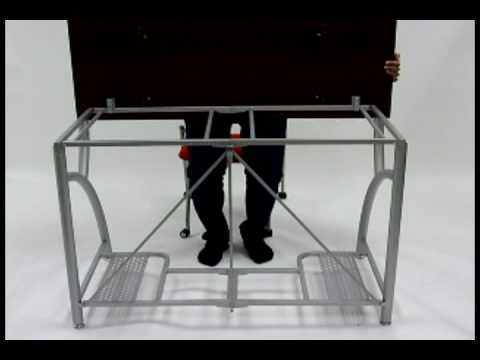 Origami Folding Student Desk YouTube
