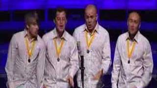 This Way Up barbershop quartet - Yes Sir That