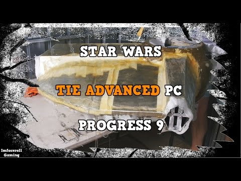 Star Wars TIE Fighter Advanced Watercooled PC Build Progress 9 - PC MOD BUILT INTO A TIE FIGHTER