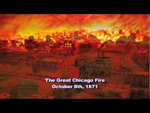 Weather History: The Great Chicago Fire 1871