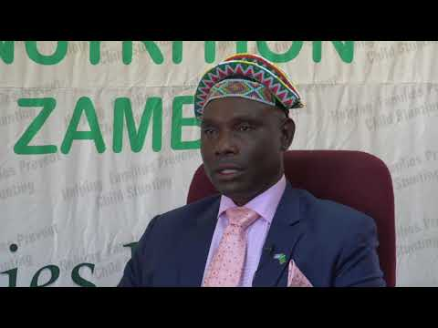 CHIEF CHIBWIKA'S ADDRESS-ROLE OF MEDIA IN REDUCING CHILD STUNTING IN ZAMBIA