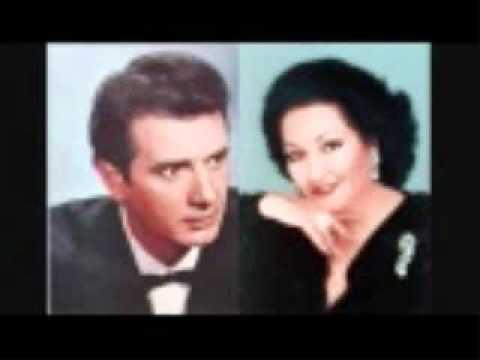 RARE! LIVE IN 1968  CABALLE AND CORELLI: ANDREA CHENIER