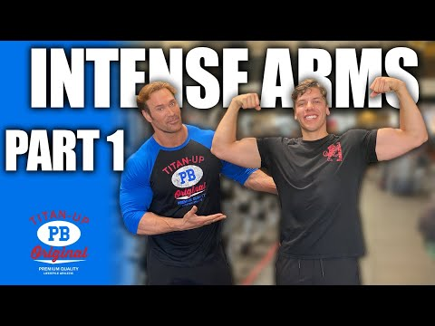 INTENSE Arm Workout Joseph Baena And Mike O'Hearn Part 1