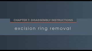 Chapter 7.2 Excision Ring Removal
