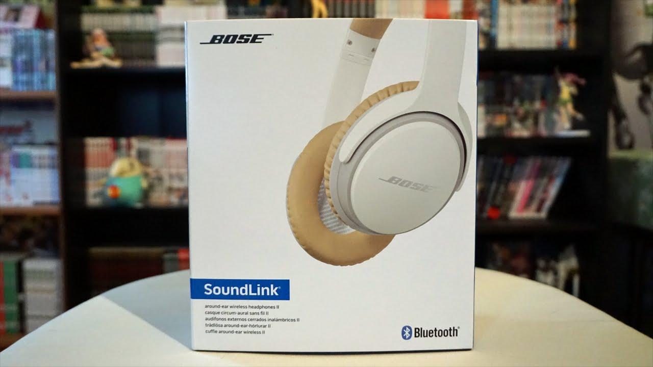 BOSE SOUNDLINK AROUND EAR II - UNBOXING - YouTube 4027ee8f0077
