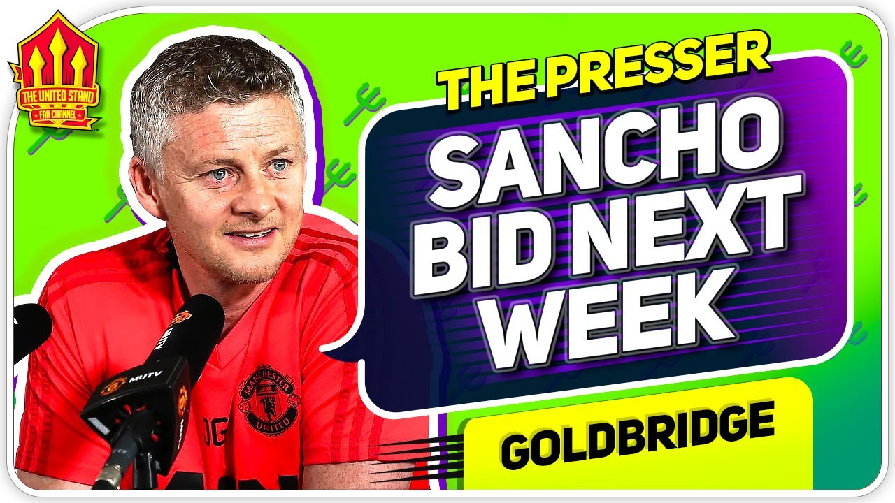 Sancho Bid & Solskjaer Press Conference Reaction! Brighton vs Manchester United News