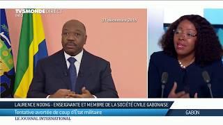 """Gabon : """"la situation n'est pas du tout sous contrôle"""" selon Laurence Ndong"""