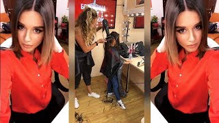 Бородина с дочками на Дом2♥️Марусе обстрыгли волосы