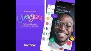 Free Unlimited Talk and Text and Video Calls With TextNow on the T-Mobile network First Impressions! screenshot 3