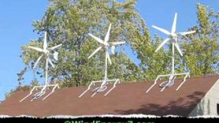Roof Mount Wind Turbine