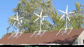 Roof Mount Wind Turbine