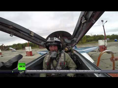 US man fulfills childhood dream of flying in Russian MiG-29 jet