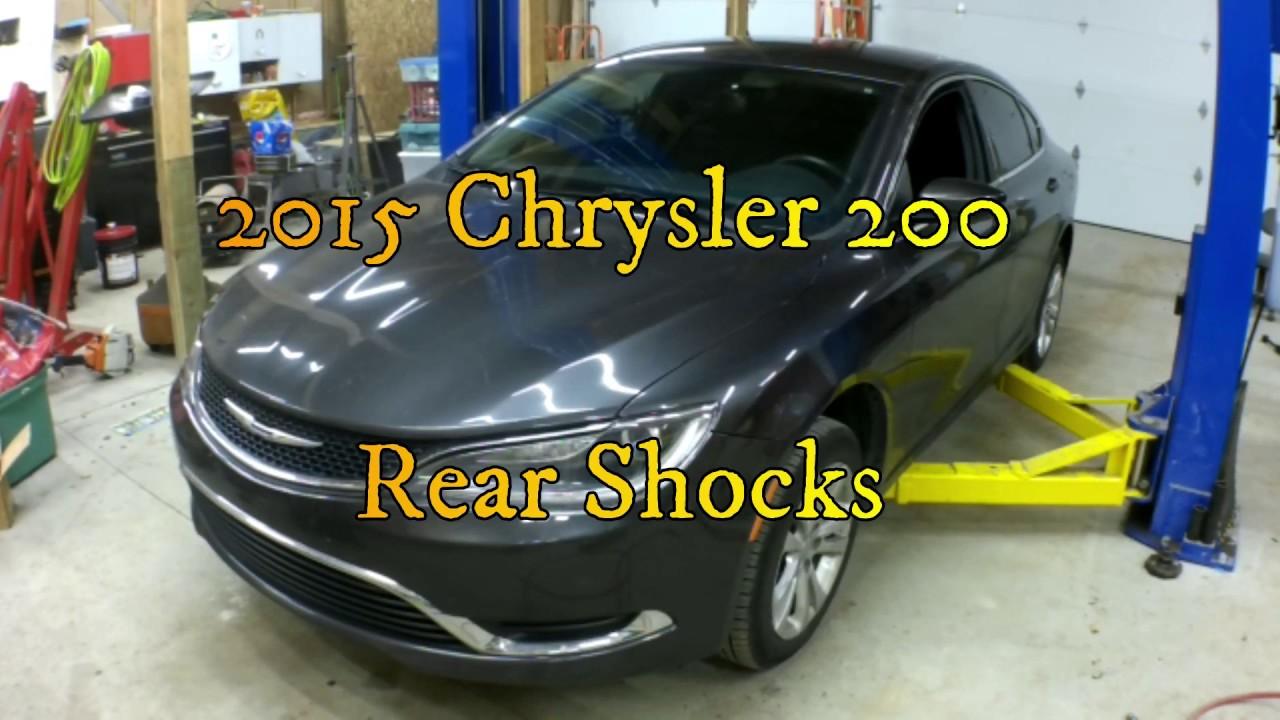 Chrysler 200 Rear >> Chrysler 200 Rear Shock Replacement
