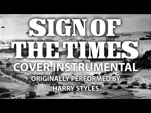 Sign of the Times (Cover Instrumental) [In the Style of Harry Styles]