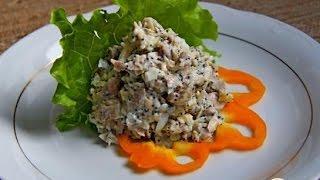 Салат Россыпи (курица, сыр, мак, сельдерей)