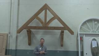 Building Center Timber Accents cedar accent products, beam extensions, cedar brackets