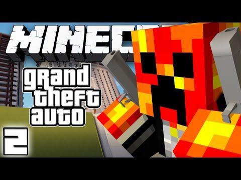DEATH BY ROCKET LAUNCHERS?! - Grand Theft Auto V - #2 (Minecraft GTA Server)
