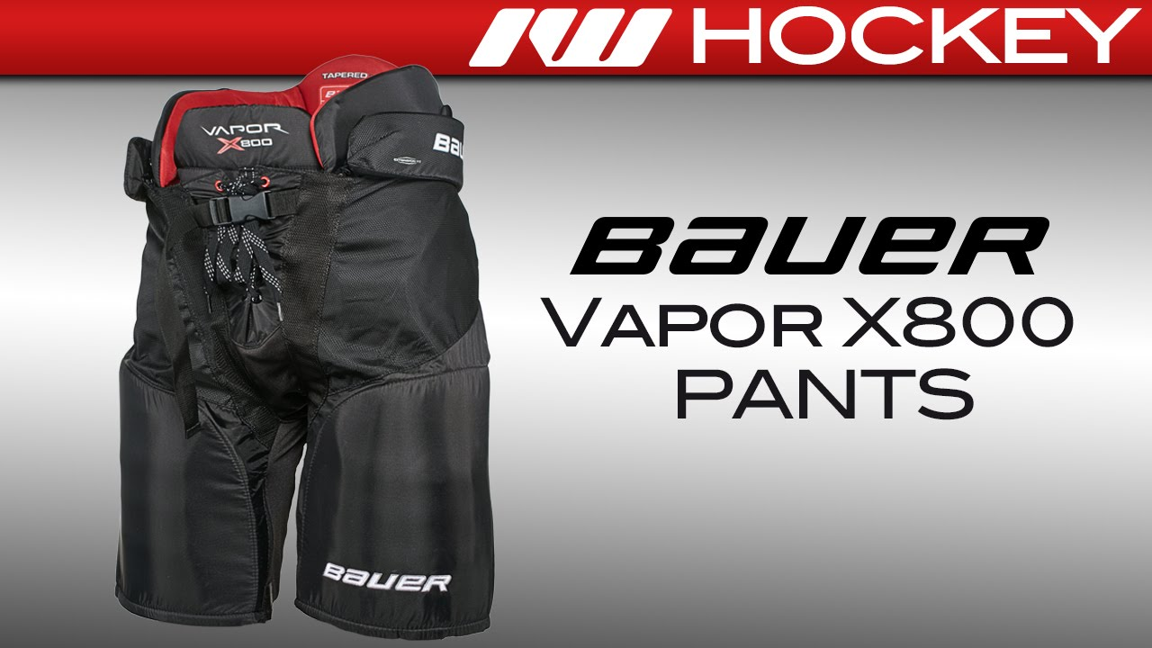 89c204585c6 Bauer Vapor X800 Ice Hockey Pants Review - YouTube