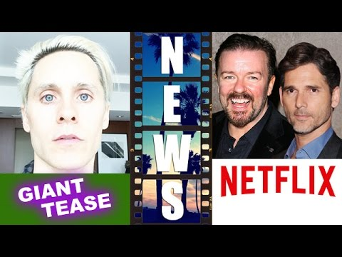 Jared Leto's Joker voice etc, Ricky Gervais' Special Correspondents to Netflix - Beyond The Trailer