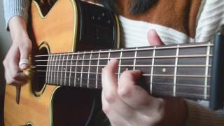 【20161225】Yesterday Once More(fingerstyle cover)