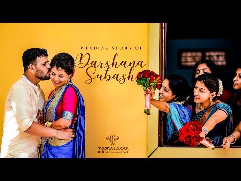 Latest Kasargode Wedding Highlights 2019 - Darshana & Subash - MoonWedlock