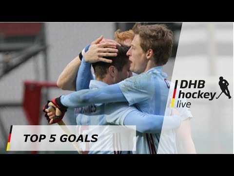 Top 5 Goals - 1. Hockey-Bundesliga - 28.-29.04.2018
