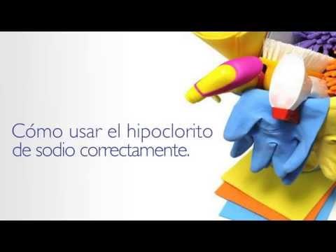 ¿Cómo usar el hipoclorito de sodio correctamente? Desinfectar con hipoclorito vs Benziral
