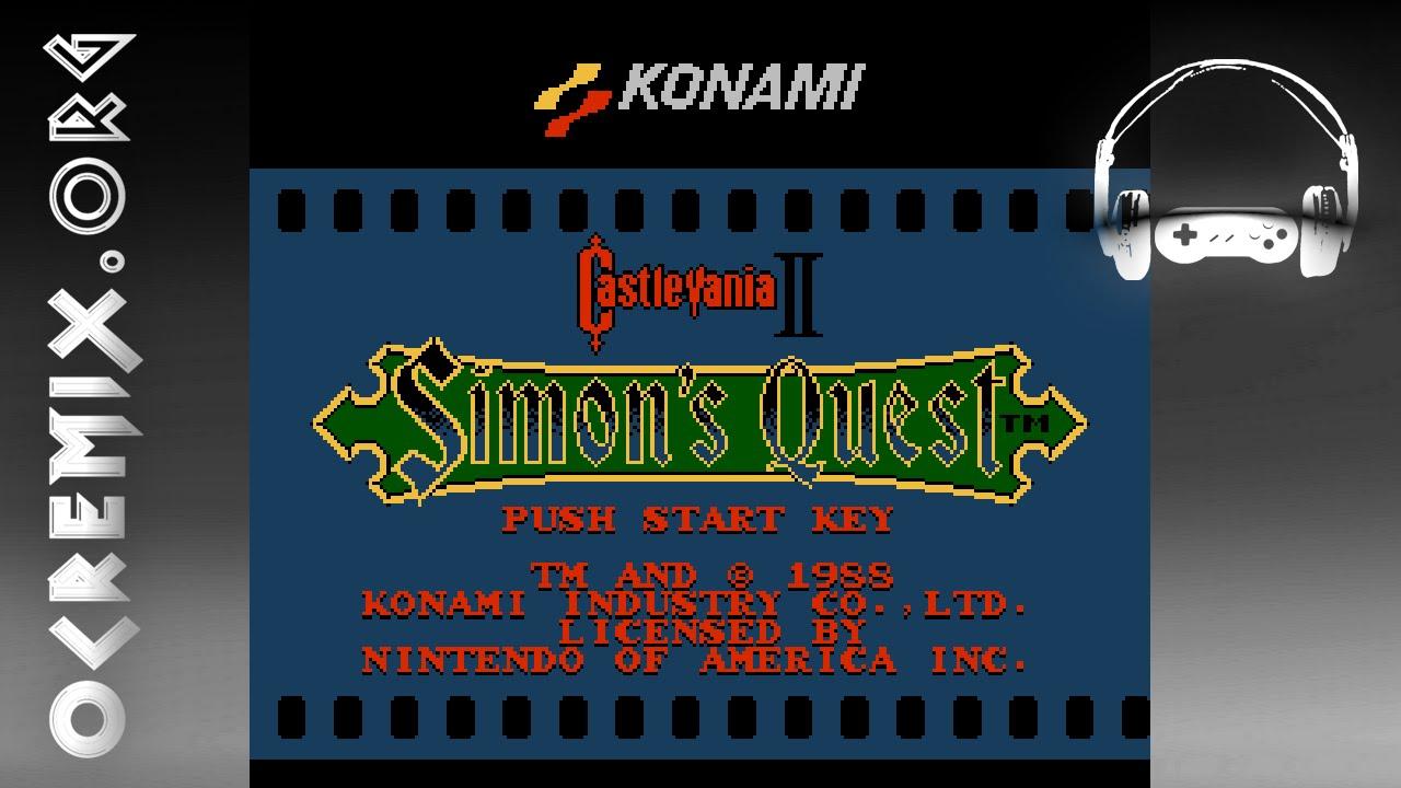 Song: Castlevania II: Simon's Quest