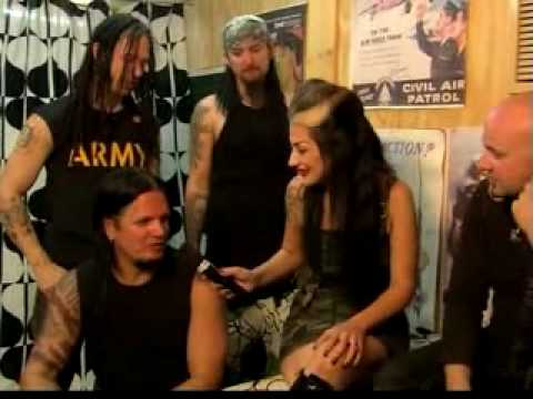 Metal Sanaz interviews Disturbed
