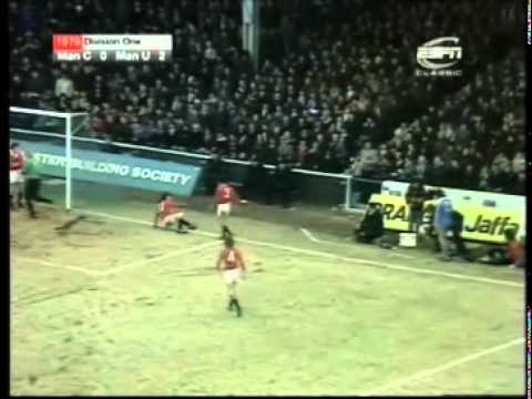 Manchester City - Manchester United 0 - 3  (1978 - 79)