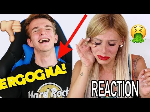 VERGOGNA !!! CHE OBBROBRIO !!! REACTION AL VIDEO DI BLACKGEEK 🔪