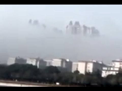 City Of Sky Scrapers Appear In The Skies Over China Again - 2017