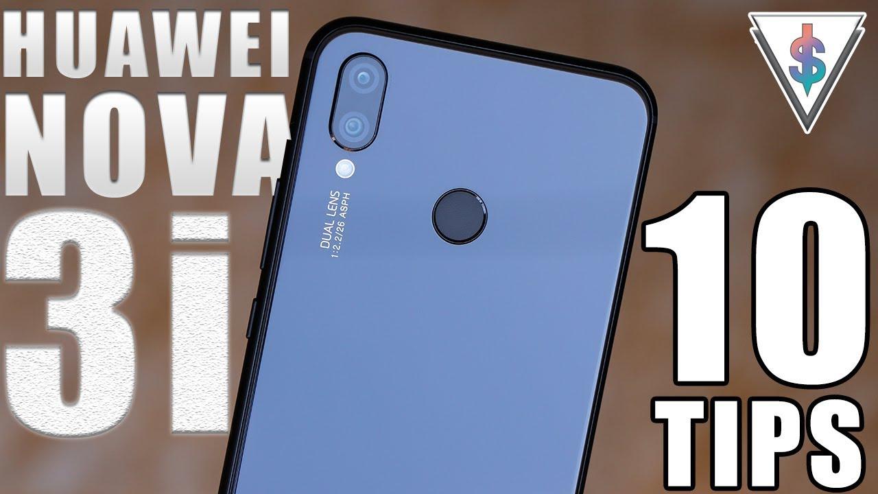 10 awesome software Tips for the Huawei Nova 3i and Huawei Nova 3