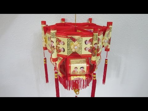 CNY TUTORIAL NO. 51 - Traditional Hongbao Lantern 1