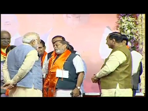 PM Shri Narendra Modi addresses public meeting in Ahmedabad, Gujarat : 11.12.2017