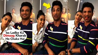 Shraddha Kapoor Makes FUN Of Sushant Singh Rajput While Promoting Chhichhore Movie