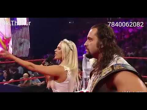 WWE Roman reigns and woman fighting by WWE comady and fight
