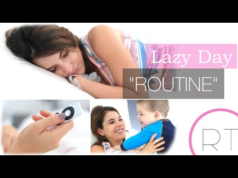 """My Lazy Morning """"Routine"""""""