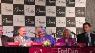 The Fed Cup draw