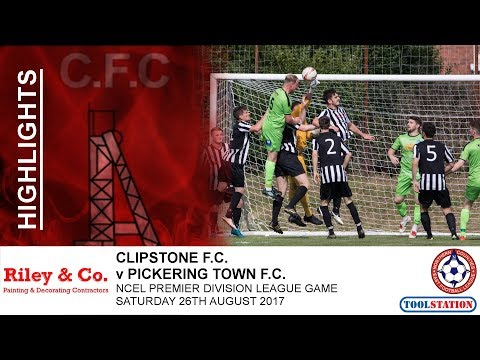 Highlights:- Clipstone FC v Pickering Town - NCEL Premier League - Saturday 26th August
