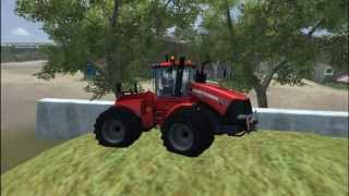 Farming simulator 2013 - Silage on big Australian Farm