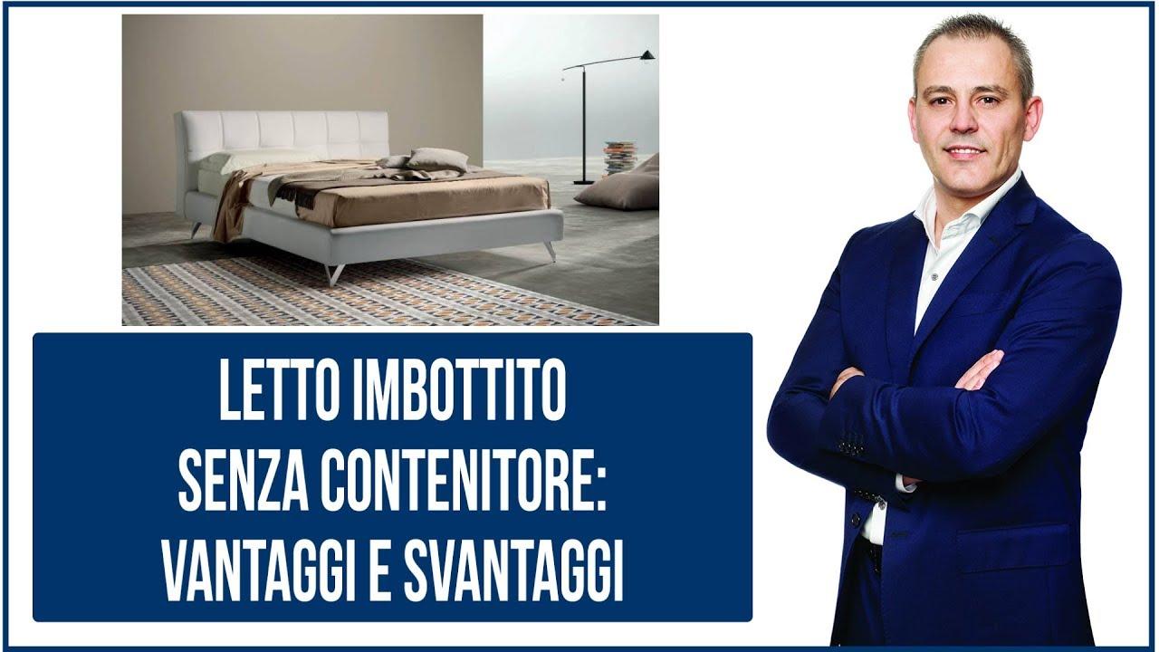 Sararreda SOMMIER Letto Matrimoniale con vano Contenitore Imbottito e Rivestito in Ecopelle Made in Italy Colore Bianco