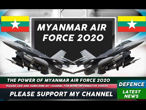 Myanmar Air Force 2020 | Defence Latest News | DLN Military